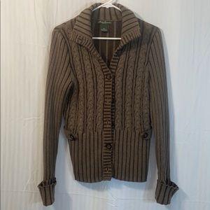 Eddie Bauer 100% cotton cardigan